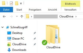 CloudDrive in Explorer / Virtual Drive | MOUNT10 Knowledge-Base